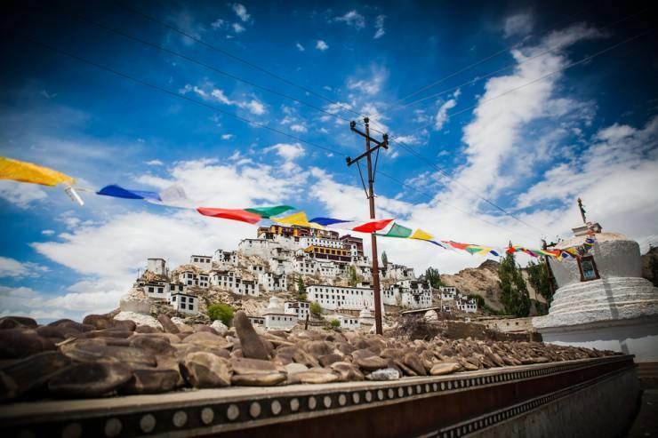 صومعه Thikse زیبا در هند