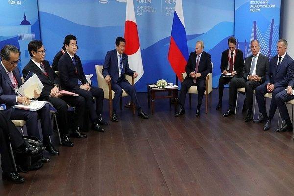 توکیو: تا مسئله ارضی با روسیه حل نشود پیمان صلح را امضا نمی کنیم
