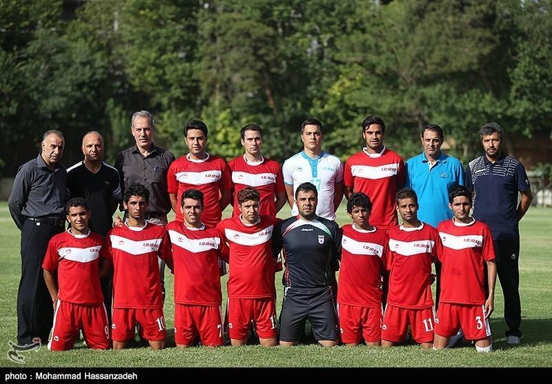 چهارمین مرحله اردوی تیم ملی فوتبال 7 نفره برگزار می گردد