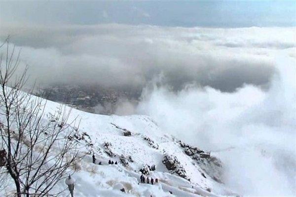 تداوم بارش و سرما در اردبیل، گردنه الماس و حاشیه شهرها برفی شد