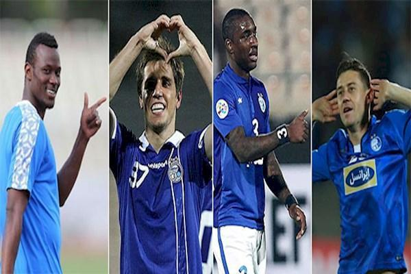 41 بازیکن خارجی درتاریخ استقلال و فقط 4 ستاره!