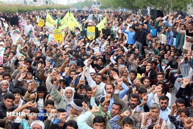 تبلیغات اسلامی گلستان از حضور باشکوه مردم در راهپیمایی تقدیر کرد