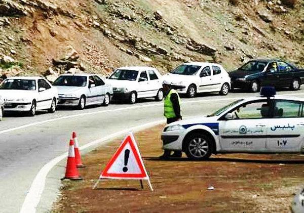 محدودیت های ترافیکی جاده های مازندران