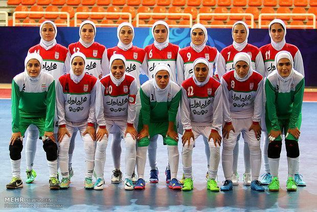 جام ملت های فوتسال زنان قرعه کشی شد، همگروهی ایران با ازبکستان