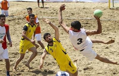 برگزاری دومین اردوی تیم ملی هندبال ساحلی در اصفهان