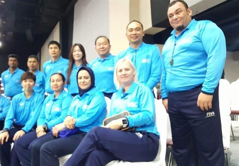 زینب حقی تنها داور محجبه مسابقات تایلند