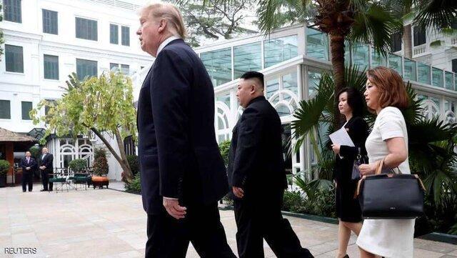 انتها بدون توافق نشست ترامپ و اون در هانوی