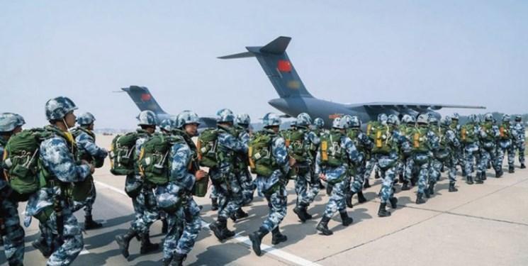 تمرین های نظامی ویژه چین برای مقابله با تهدیدات آمریکا
