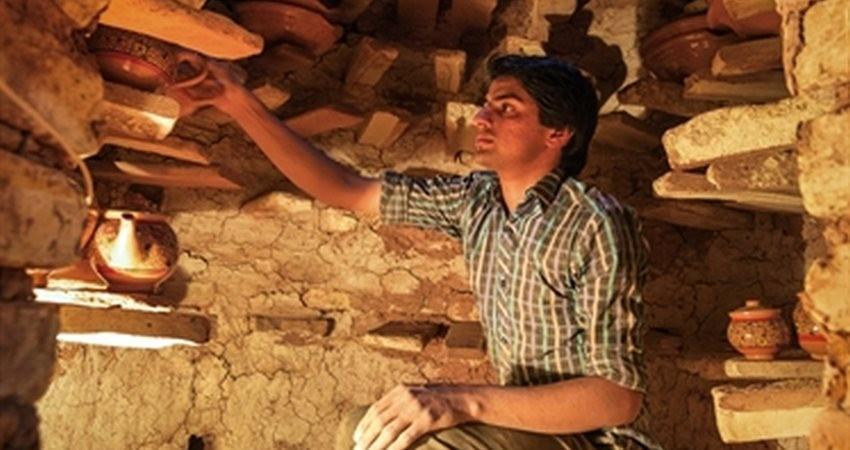 نمایش هنرهای کهن سرایان در چهارمین نمایشگاه سراسری صنایع دستی خراسان جنوبی