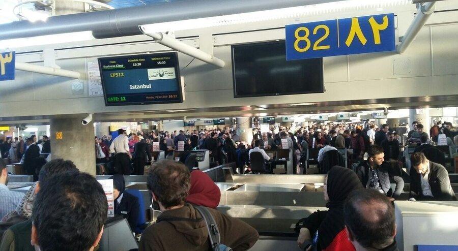 مسافران ورودی از چین از نظر علائم ابتلا به کوروناویروس کنترل می شوند