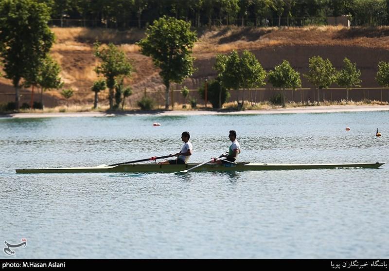 روئینگ قهرمانی جوانان آسیا، قایق دونفره ایران چهارم شد