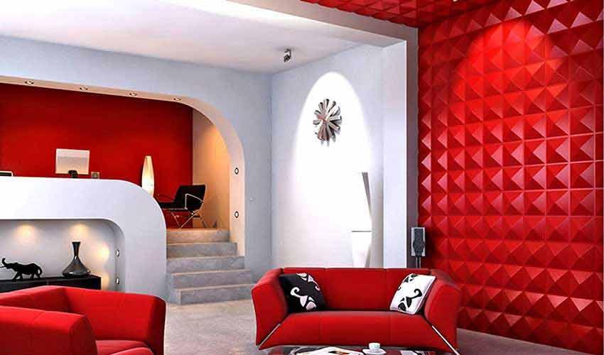 دیوارهای سه بعدی ؛آرامش بی انتها منزل
