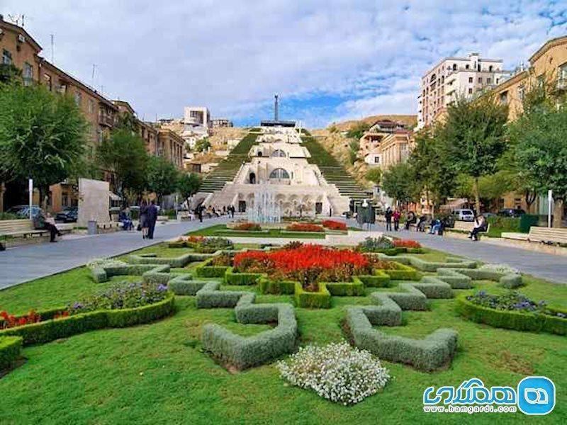 کاسکاد ایروان؛ دیدنی حیرت آور در ارمنستان