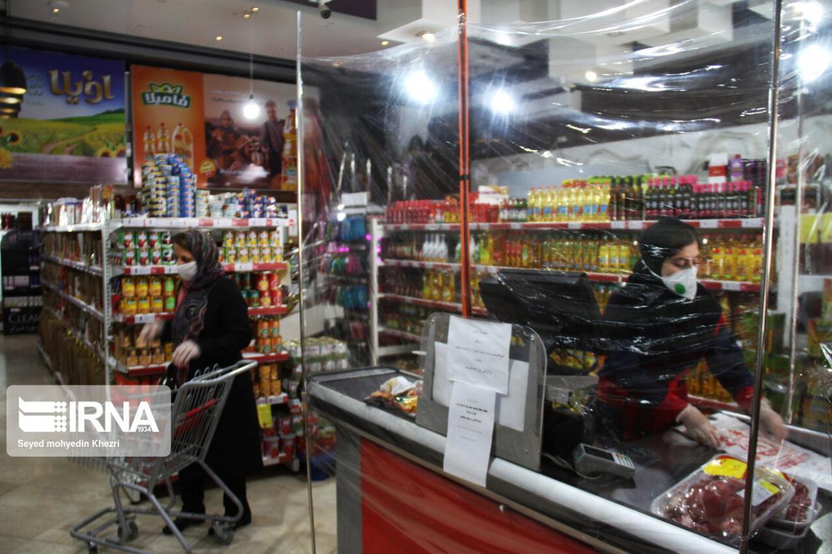 خبرنگاران طرح فاصله گذاری اجتماعی در فروشگاه های شهروند اجرا می شود