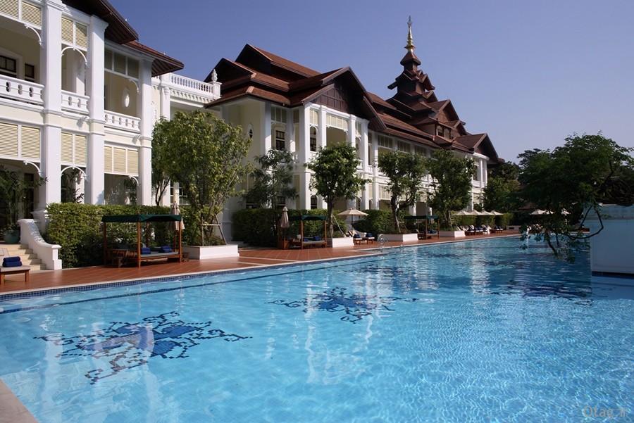 آنالیز دکوراسیون و طراحی داخلی هتل زیبای ماندارین در تایلند ، عکس