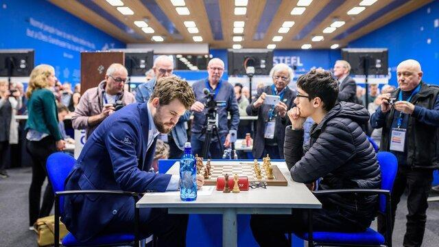فینالیست شدن فیروزجا در مسابقات اینترنتی، قهرمانی در صورت پیروزی بر کارلسن