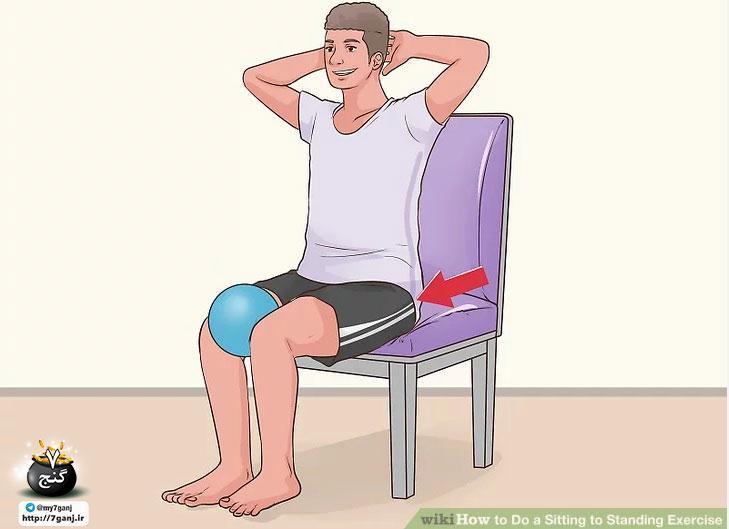 آموزش تمرینات بشین و پاشو