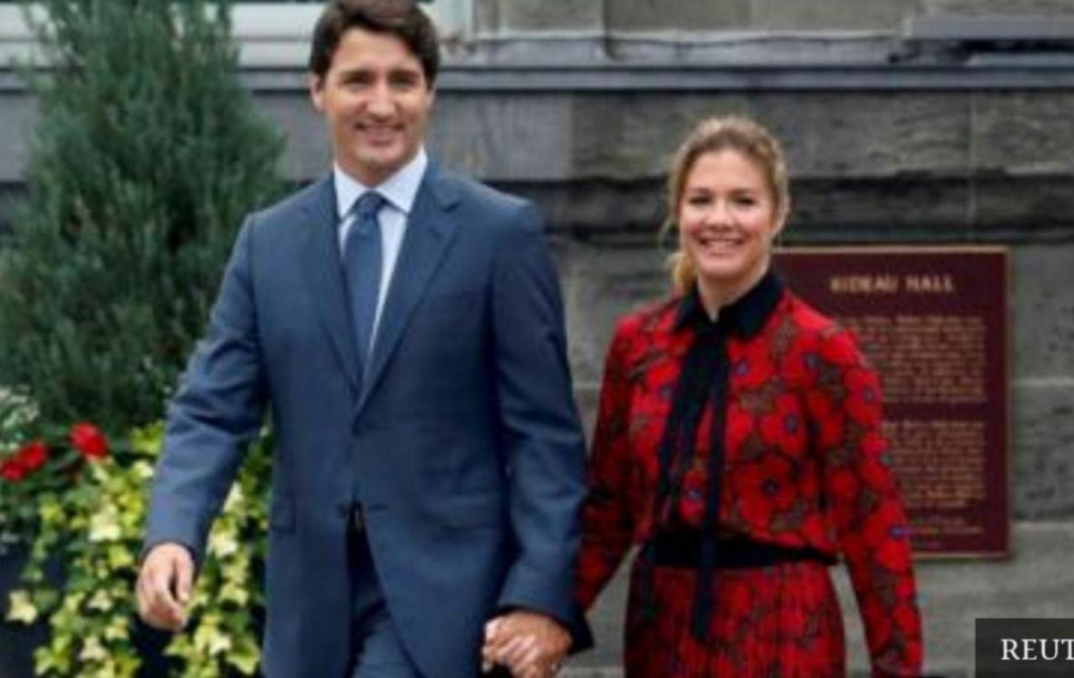 تست کرونای همسر نخست وزیر کانادا مثبت شد