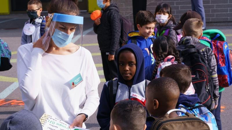 قرنطینه 81 دانش آموز کبکی بعد از تایید موارد کووید-19 در دو مدرسه