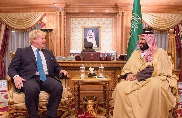 جانسون و بن سلمان درباره بحران یمن مصاحبه کردند