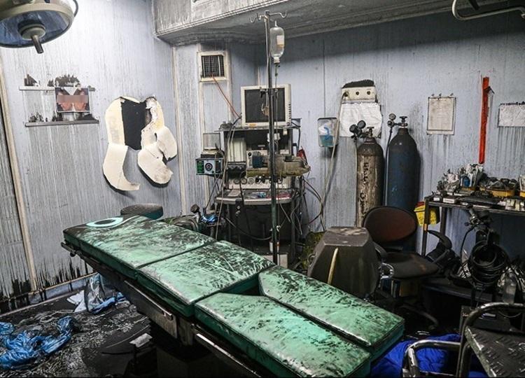 اتصال برق کولر علت اصلی حادثه کلینیک سینا مهر