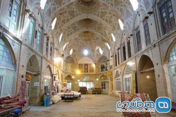 آغاز بازسازی سرای کاشانی بازار تاریخی اراک