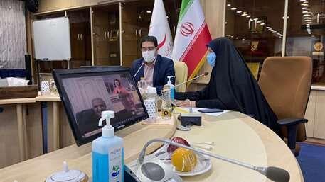 خبرنگاران بررسی زمینه های توسعه همکاری هلال احمر ایران و صلیب سرخ اتریش