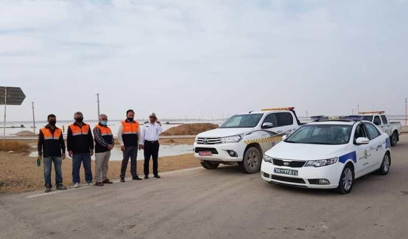 خبرنگاران جاده ساحلی گناوه به بوشهر بازگشایی شد