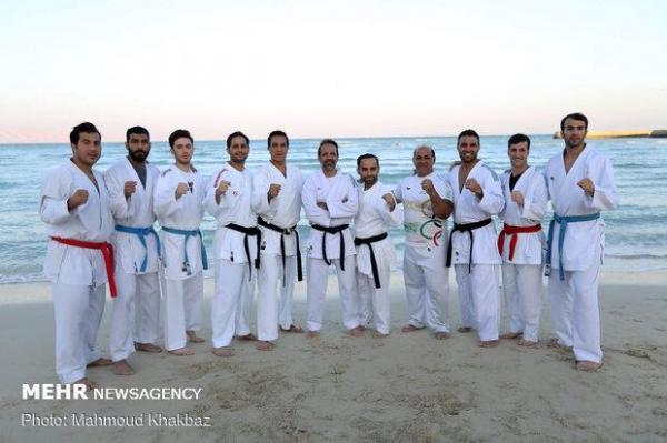 خاتمه اردوی تیم ملی کاراته و بازگشت به تهران