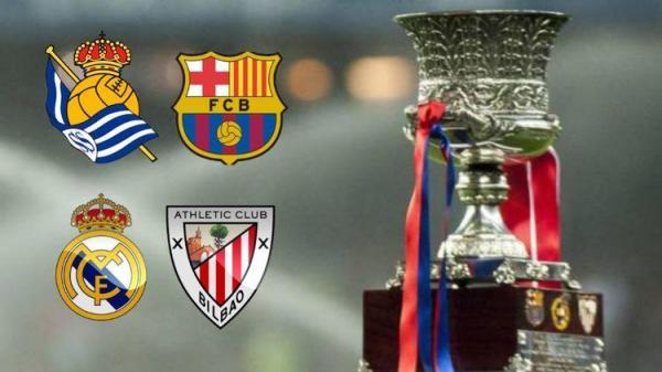 رقبای بارسلونا و رئال مادرید در سوپرجام اسپانیا کدام تیم ها هستند؟
