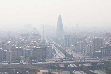 هشدار آلودگی هوا در 8 کلانشهر ، یخبندان در 21 مرکز استان