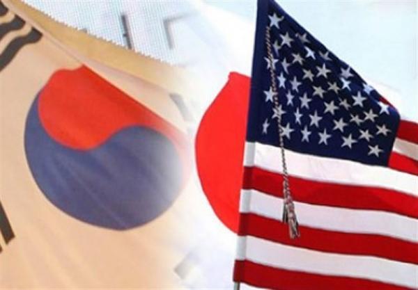 نشست مقام های آمریکا، ژاپن و کره جنوبی درباره کره شمالی
