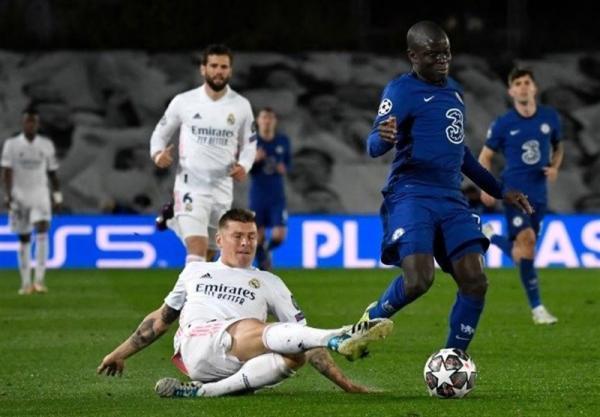 لیگ قهرمانان اروپا، جنگ رئال و چلسی در مادرید برنده نداشت، اندوخته ارزشمند مردان توخل برای صعود به فینال