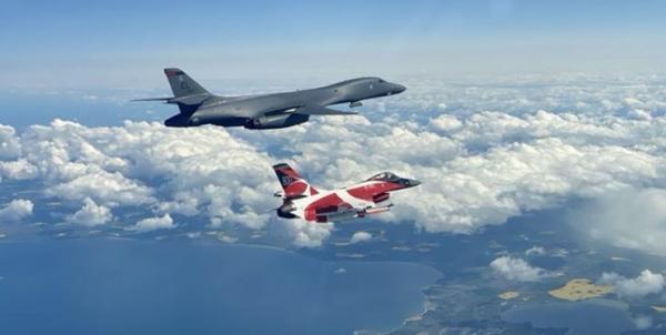 تمرین حمله به روسیه و بلاروس از سوی هواپیما های ناتو