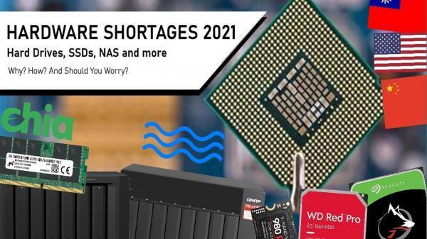 بحران کمبود سخت افزار به هارد SSD هم سرایت کرد