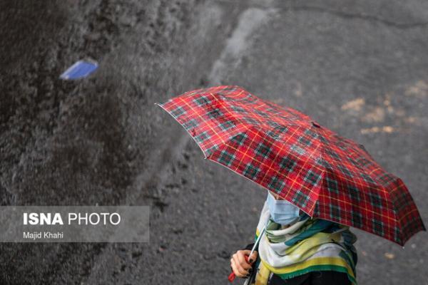 بارش باران پراکنده در 5 استان، وزش باد شدید در نوار شرقی